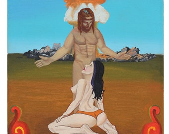 Original Art Print, Modern Art Print, Psychedelic Artwork, Sacred Painting