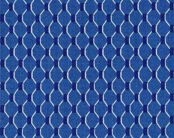 Michael Miller Fabrics - Fish Net Azure - CX6318-AZUR-D