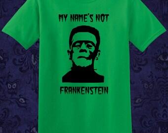 Halloween Frankenstein Frankenstein's Monster Halloween T-Shirt