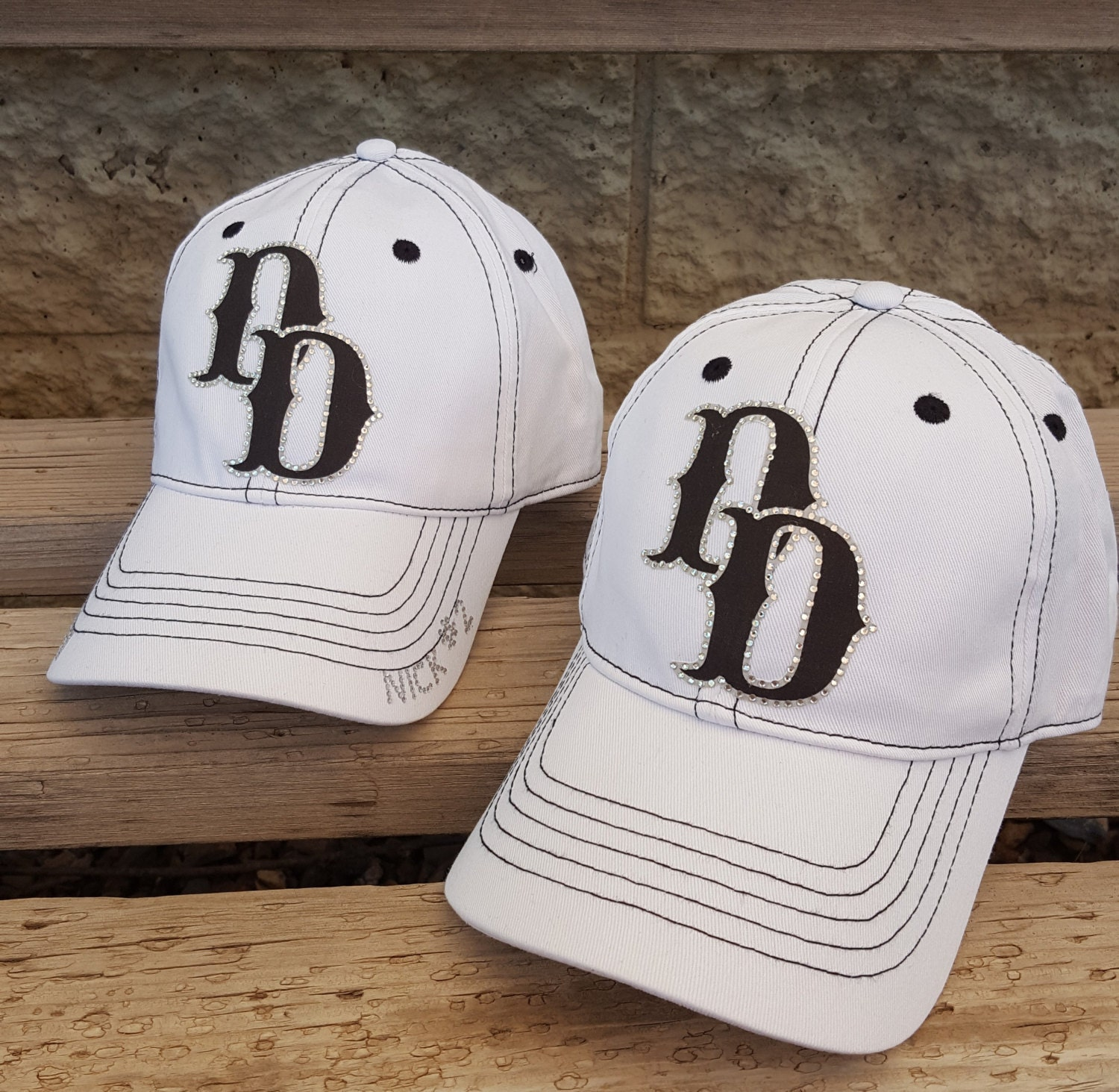 custom baseball soccer and football team logo hats in