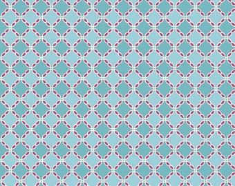 Riley Blake - Flower Patch C4096 Blue