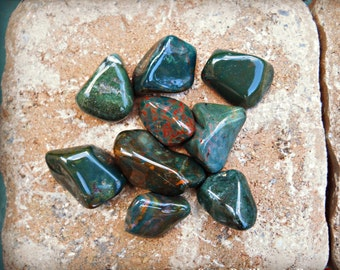 Bloodstone (Tumbled) ~ One Stone ~ Cleansed & Charged