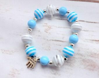 Girls Bracelet, Flower girls gift, Girls jewelry, Bridesmaid bracelet, dress up girls bracelet, UK seller