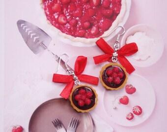 earrings strawberry pie