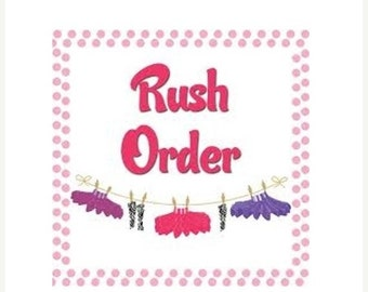 FALL SALE 15% OFF Rush order upgrade