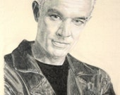 Portrait of James Marsters as Spike.