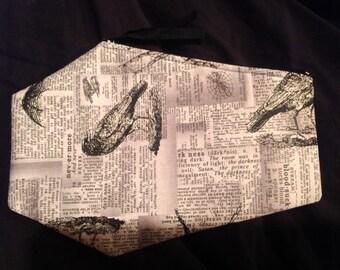 Newsprint Coffin Pouch!