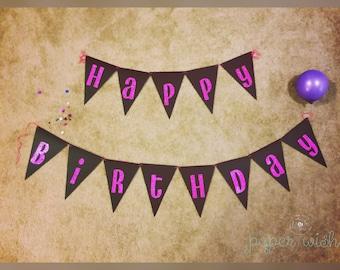 Birthday Banner, Happy Birthday Sign, Happy Birthday Banner, Birthday Decorations, Birthday, Birthday Decor