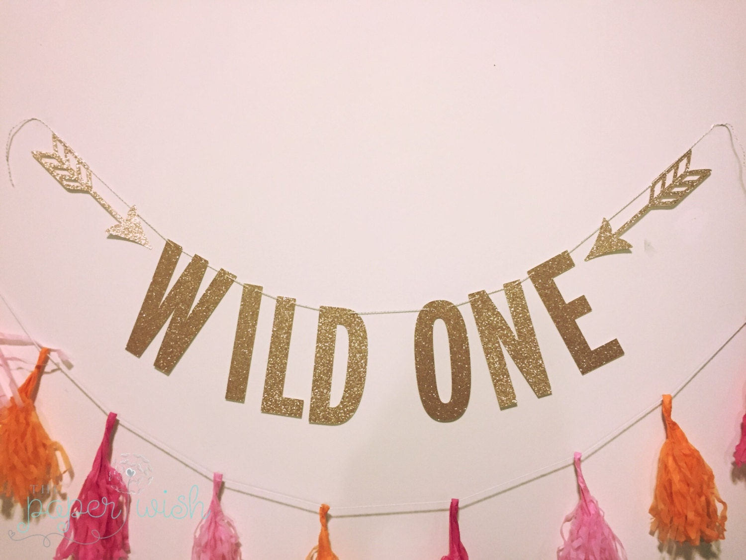Wild One Banner Wild One Birthday 1st Birthday By Thepaperwish