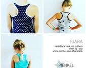 BUNDLE: FJARA Racerback Tank Top Pattern Girls & Women