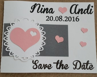"Save the date... ""Wedding"""