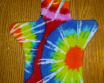 Tie Dye Gumby Hand Puppet