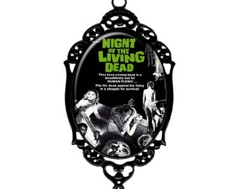 NIGHT of the LIVING DEAD Poster Necklace