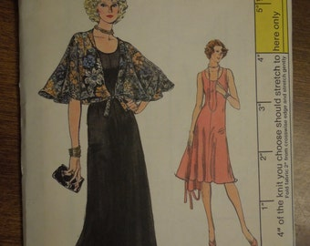 Vogue 9063, size 10, dress, with capelet, misses, womens, UNCUT sewing pattern, craft supplies