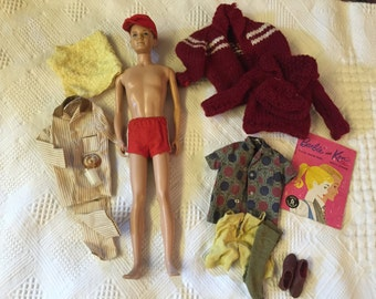 Vintage Mattel Ken doll with clothes
