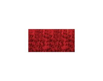 Lion Brand Home Spun Yarn Holly Red, Soft homespun Yarn, Yarn made in the USA,