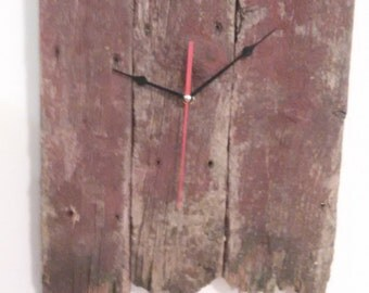 Barn Board Wall Clock