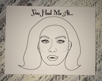 You Had Me At Hello Adele Card - Love Card - Valentine - Jerry Maguire