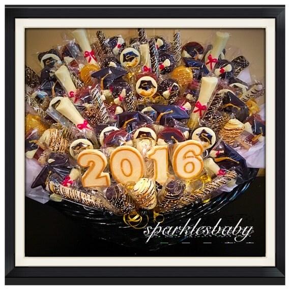 Graduation sparklesbaby graduation chocolate basket commack or carle place pickup only negle Choice Image