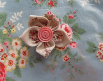 Pretty pink brooch