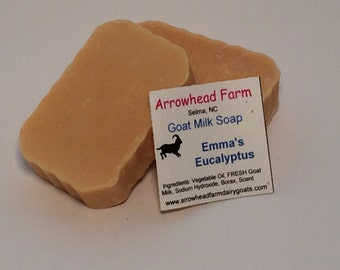 Handmade Goats Milk Soap, Patchouli and Coconut