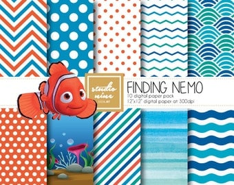 Finding Nemo Digital Paper