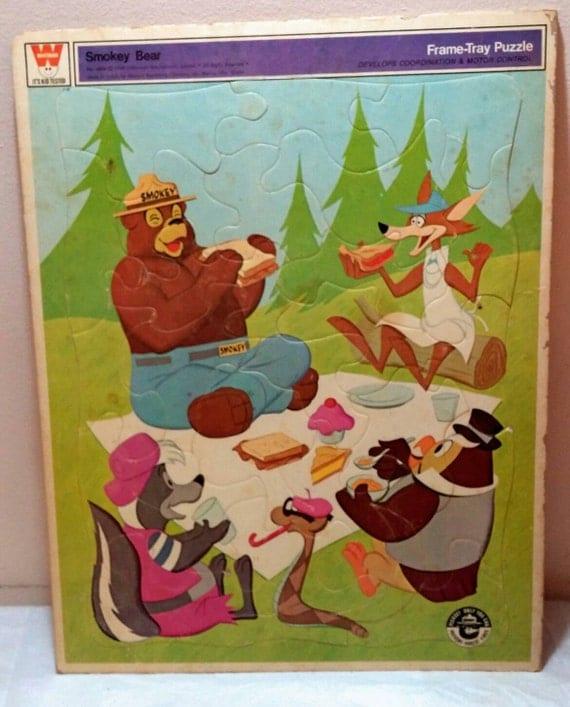 Vintage puzzle bringing news whitman values