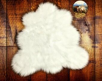 New Shaggy White Area Carpet Accent Throw Rug Plush