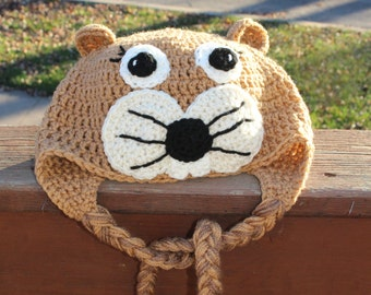 Squirrel Hat // Critter Hat