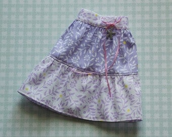 Lilac (ver.2) cotton skirt for Minfiee, Narae, Slim MSD