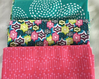 Fat Quarters Fabric Bundle  5 peice
