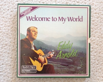 "Welcome To My WORLD by ""EDDY ARNOLD"" 6 Lp's'S Album Set (#2066) Rda-168-A Stereo"