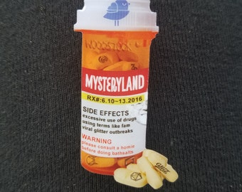 Mysteryland  prescription pin