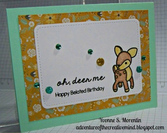 Happy Birthday... Greeting Card...