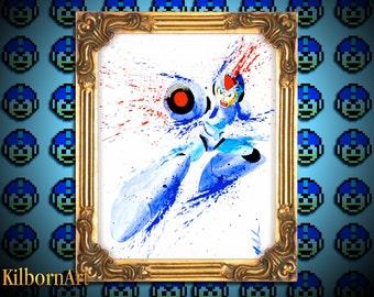 Megaman X Large Print!