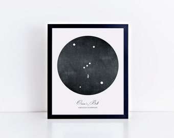 Orion's Belt Art Print • Buyable Frame Option