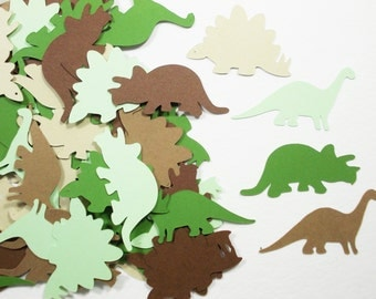 """Dinosaur Party Decoration, Dinosaur Confetti, Birthday Party,  1.5"""" & 1.75"""", Party Decoration, 100 Ct., Ships in 2-3 Business Days"""