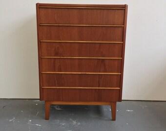 Vintage Danish Mid Century Modern Teak Dresser - 775 OBO - Free NYC Delivery!