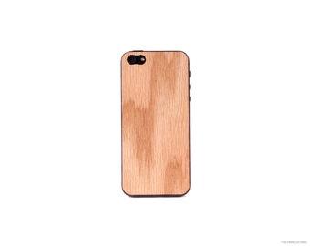 Real Oak iPhone 5 5s 4 4s Wood Skin