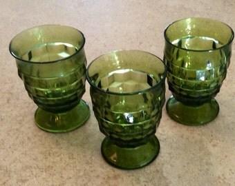 Reduced!!! Vintage Whitehall Glassware