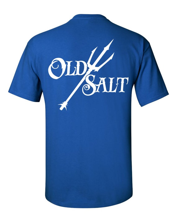 Old salt brand t shirt apparel fishing surfing diving for Fishing t shirts brands
