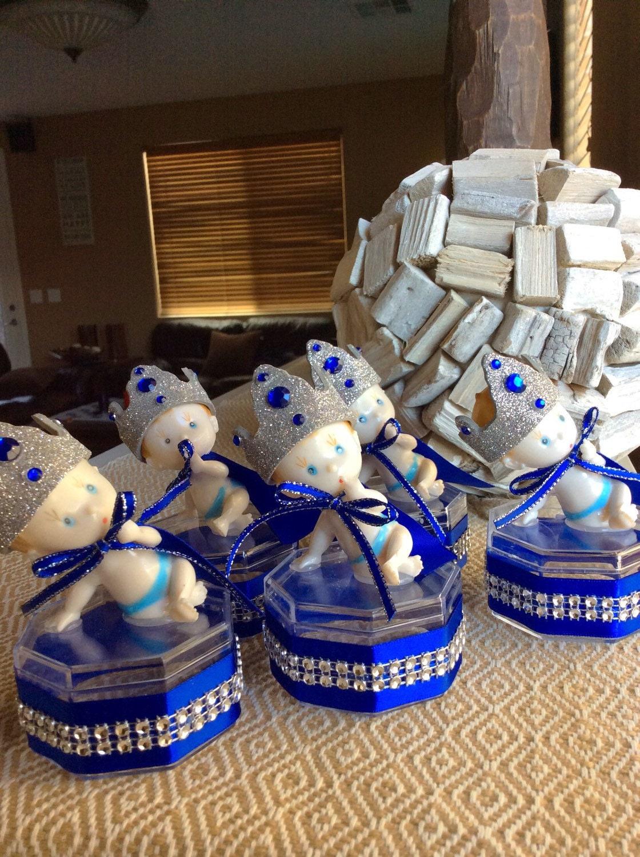 12 royal blue baby shower little prince baby shower little