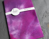 Electric Purple Fat Quarter - Hand Dyed Fabric, Vibrant Explosive Red Violet Maroon Mauve Imperial Plum Iodine Purple Quilting Cotton, 3244