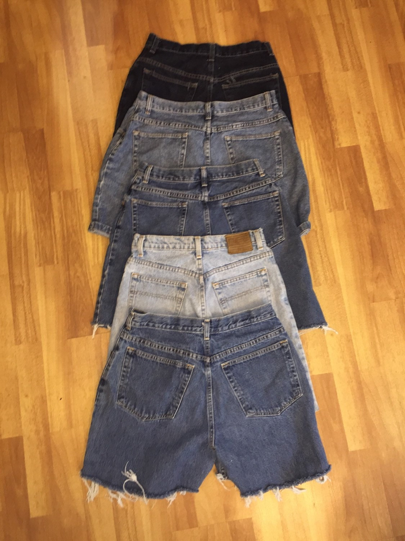 High waisted shorts denim SALE / high waisted Vintage/ Any