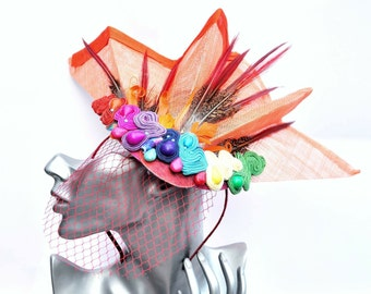 Very funky fascinator