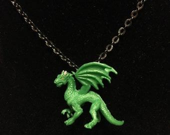 Mythological Pets - Green Dragon