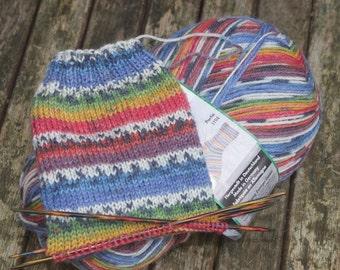 Kim - Viridian Schafpate 4 ply Sock Yarn - 7951 by Opal