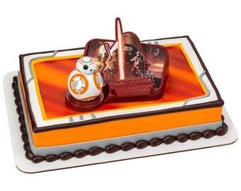 Star Wars Icon Birthday Candle Cake Topper Set