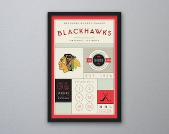 Chicago Blackhawks Stats Print