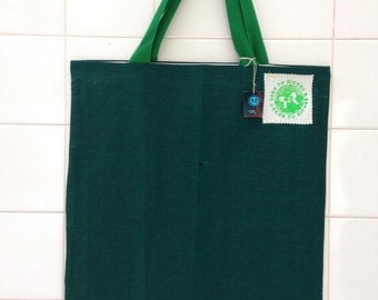 Upcycled tote bag